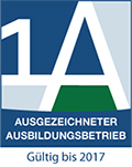 1A Ausgezeichneter Ausbildungsbetrieb - bis 2017